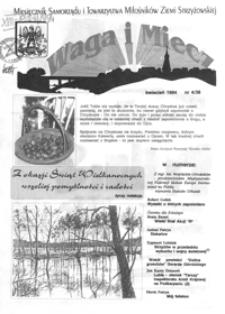 Waga i Miecz : miesięcznik Samorządu i Towarzystwa Miłośników Ziemi Strzyżowskiej. 1994, [R. 4], nr 4 (kwiecień)