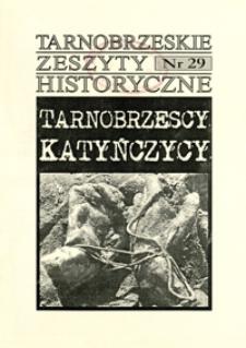 Tarnobrzeskie Zeszyty Historyczne. 2007, nr 29 (wrzesień)
