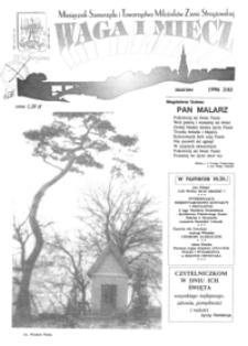 Waga i Miecz : miesięcznik Samorządu i Towarzystwa Miłośników Ziemi Strzyżowskiej. 1996, [R. 6], nr 3 (marzec)