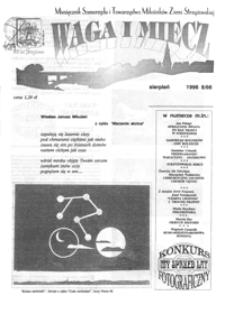Waga i Miecz : miesięcznik Samorządu i Towarzystwa Miłośników Ziemi Strzyżowskiej. 1996, [R. 6], nr 8 (sierpień)