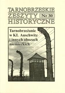 Tarnobrzeskie Zeszyty Historyczne. 2008, nr 30 (czerwiec)