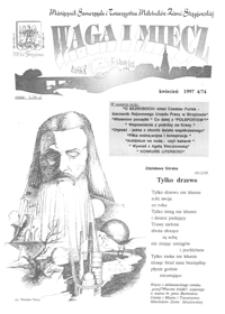 Waga i Miecz : miesięcznik Samorządu i Towarzystwa Miłośników Ziemi Strzyżowskiej. 1997, [R. 7], nr 4 (kwiecień)